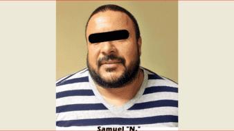 """Samuel """"N."""", """"El Tío Sam"""" o """"El Sammy"""", de 41 años, es requerido por la Procuraduría General de Justicia del Estado de BCS."""