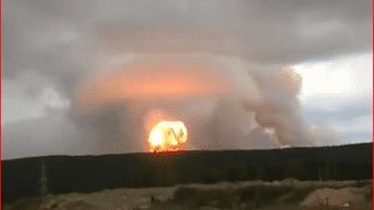 El día del accidente las autoridades de Severodvinsk admitieron un aumento de la radiactividad.