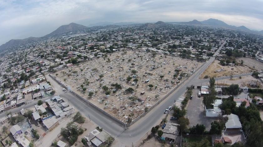 El nuevo panteón municipal de Hermosillo se abrirá el próximo mes.(Archivo)