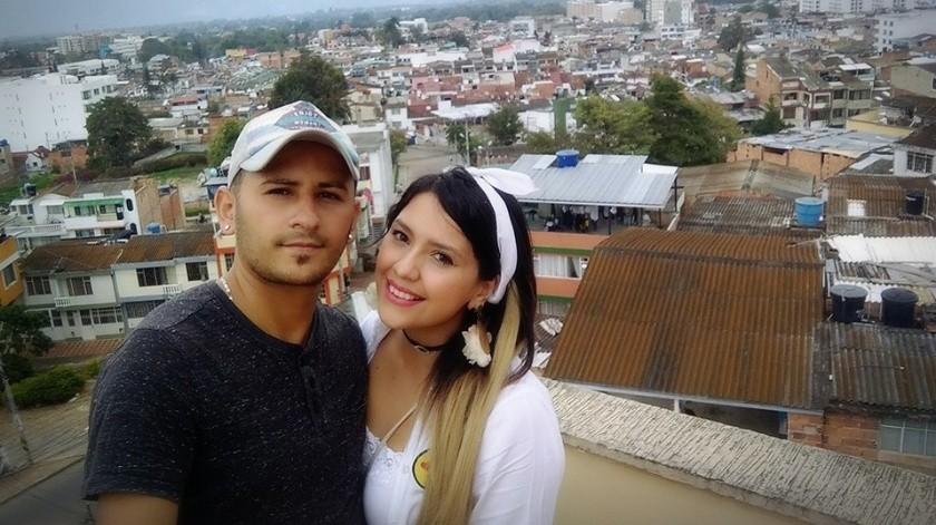 Richard Muñoz Cardona y Charlotte Cobos(Facebook)