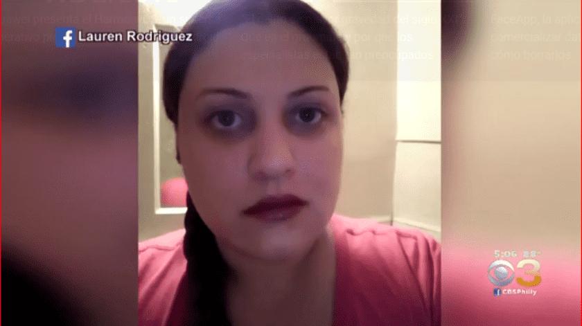 -La policía encarceló a Lauren Rodríguez, la madre de 34 años que atacó a su hija.