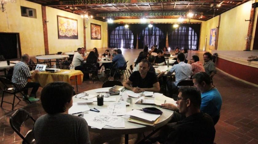 El curso fue impartido en el Salón La Tasca del Antiguo Cortijo San José hoy Casa de Cultura Playas de Tijuana.(Cortesía)