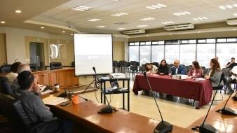 Mario Cabrera Mendoza, coordinador general de Seguimiento Gubernamental, durante la glosa de su informe.