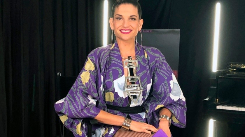 Natalia Jiménez lanza el viernes 17 de agosto un nuevo álbum en honor a México con canciones de Juan Gabriel, Rocío Dúrcal y Javier Solis.(AP)