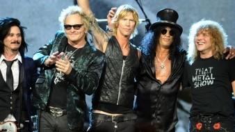 Guns N 'Roses está trabajando actualmente en un nuevo álbum.