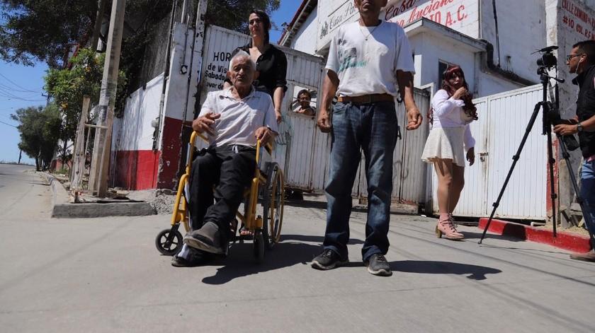 En el asilo actualmente viven 230 personas.(Sergio Ortiz)
