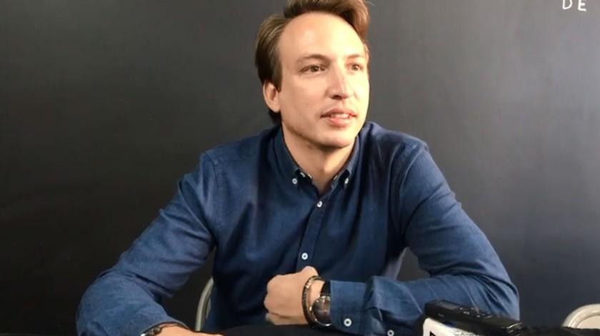 El productor Nicolás Celis.