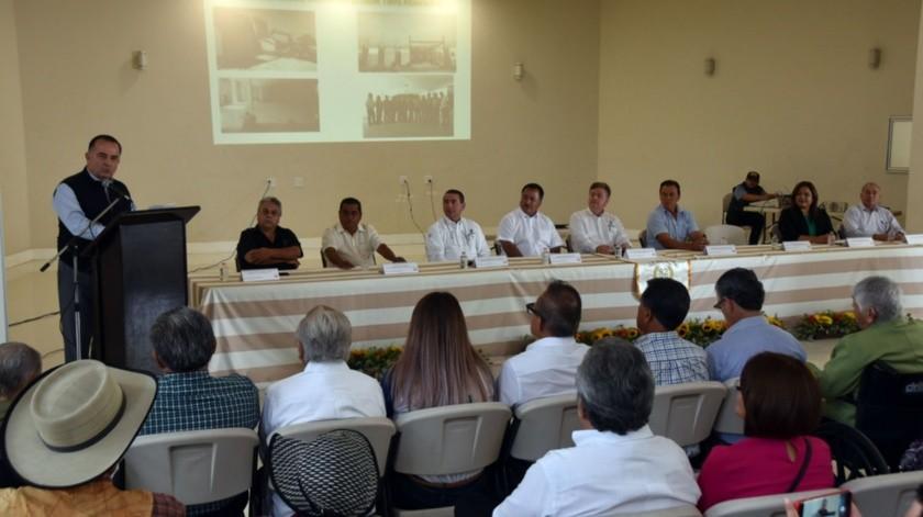 Se realizó la ceremonia de 82 aniversario de la fundación del ejido Nacionalista Sánchez Taboada.(Cortesía)