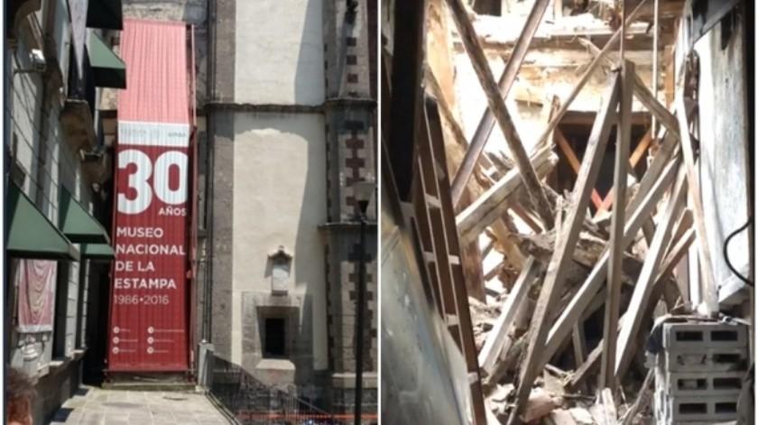 El funcionario publicó unas imágenes donde se dio cuenta de las acciones tomadas a partir del problema.(Tomada de la red)