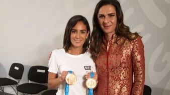 Espinosa Sánchez fue la primera deportista mexicana en colgarse 15 medallas panamericanas.