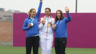Suben de rango en el Ejército a Alejandra Valencia tras medallas en Panamericanos