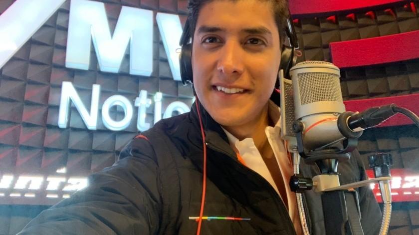 ¿Quién es Juan Manuel Jiménez, reportero golpeado en marcha?(Twitter/ @juanmapregunta)