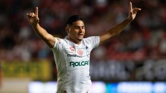 En la imagen, el jugador del Nexaca Maximiliano Salas. EFE/Francisco Guasco/Archivo