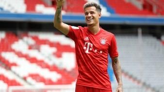 Presentan a Phillipe Coutinho con el Bayern Munich