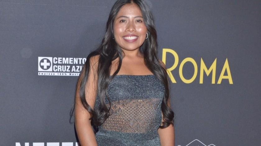 Yalitza Aparicio es objeto del deseo hasta de las mujeres.(Agencia México)