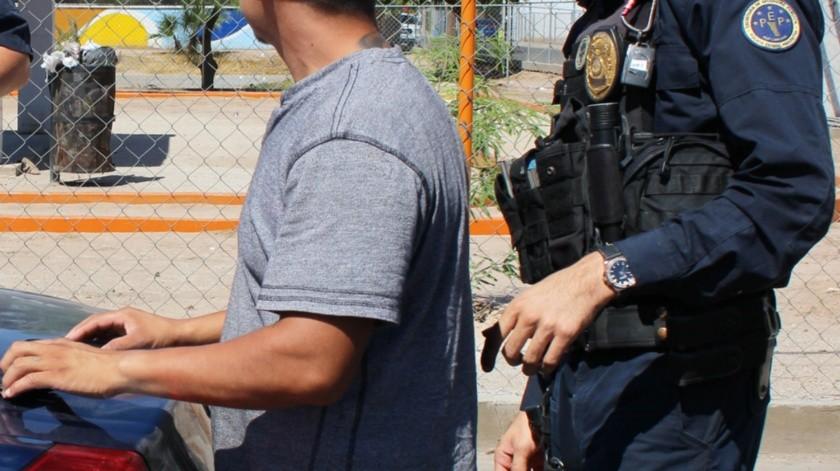 """Eduardo """"N"""" quedó a disposición de las autoridades correspondientes quienes procederán como marca la ley.(Cortesía)"""