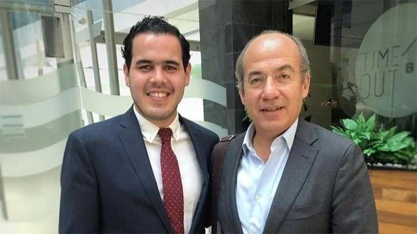 Detienen ebrio a sobrino de Felipe Calderón; renuncia a cargo(Instagram/ s_irusteta)