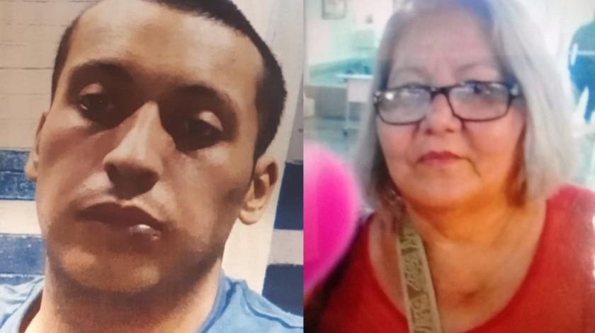 Miguel Santiago Reyes Sánchez de 27 años y Rita Colmenares Nucamendi de 55 años, son los desaparecidos.(Cortesía)