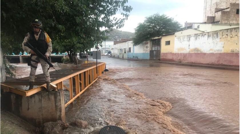 Hernández Domínguez señaló que del lado mexicano no se recibió ningún reporte de persona extraviada en los arroyos.(Manuel Jimenez)