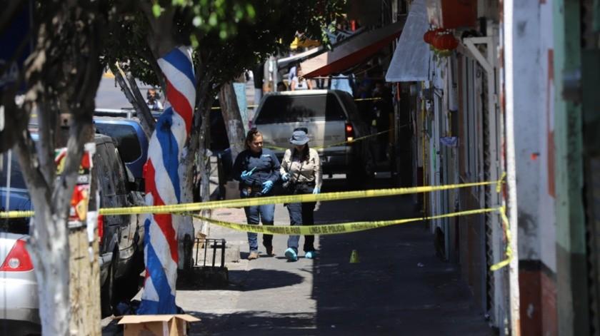 El lugar donde ocurrió el crimen está sobre la avenida Constitución.(Sergio Ortiz)