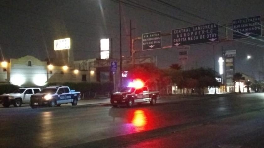 En la persecución participaron decenas de patrullas de la Policía Municipal.(Margarito Martínez)