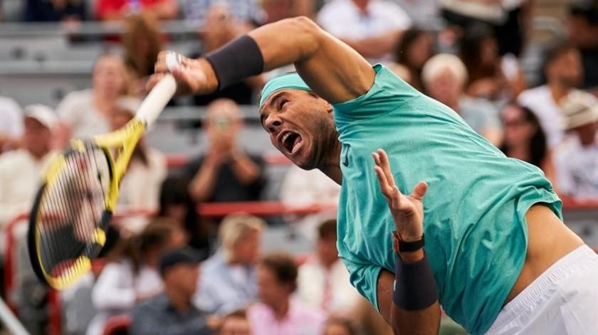 El tenista número dos del mundo, el español Rafael Nadal.(EFE)