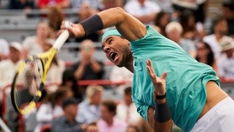 El tenista número dos del mundo, el español Rafael Nadal.