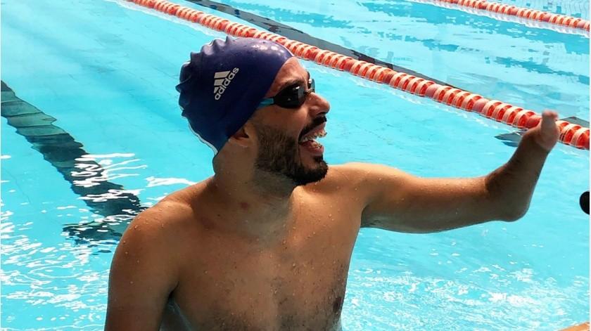Dias es el mayor medallista en la historia de la natación masculina en Juegos Paralímpicos, con 24 preseas.(@DanielDias88)