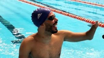 Dias es el mayor medallista en la historia de la natación masculina en Juegos Paralímpicos, con 24 preseas.