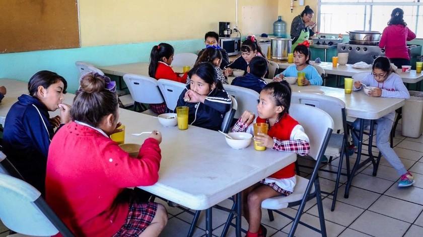 Además de los infantes beneficiados, este año se entregaron más 4 mil despensas para 48 mil 972 ensenadenses de todo el municipio.(Cortesía)