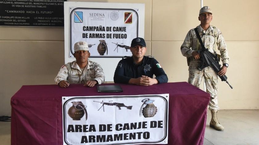 Las armas serán recibidas en los módulos de recepción y registro de armamento de las instalaciones militares.(Cortesía)