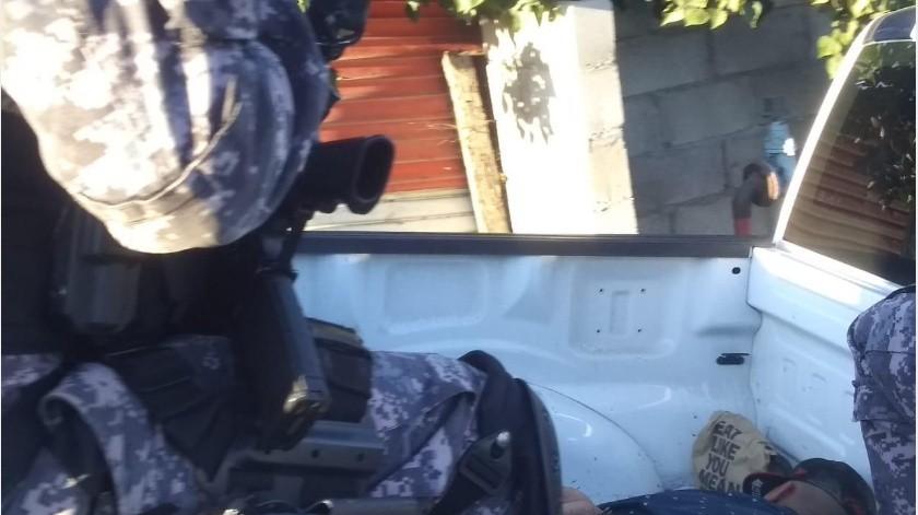 Un hombre fue lesionado por disparos de arma de fuego esta tarde en la calle Cometa esquina con Tránsito de la colonia División del Norte.(Margarito Martínez)