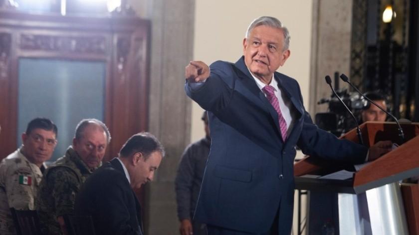 Andrés Manuel López Obrador, presidente de la República.(Archivo)