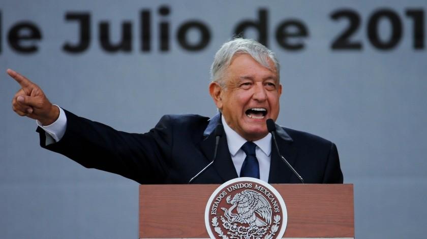 Andrés Manuel López Obrador, presidente de México.(Copyright 2019 The Associated Press. All rights reserved., AP)