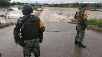 El Plan Marina fue desplegado en las zonas afectadas al momento por