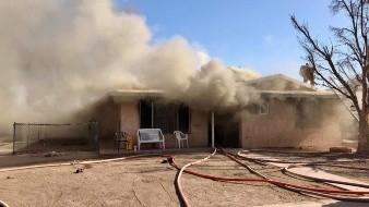 Arde una vivienda en El Centro