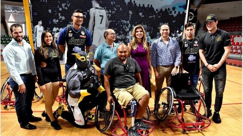 Los beneficiados fueron los jugadores que participan en el circuito estatal que cuenta con la presencia de seis equipos que se celebra en las diferentes sedes de la capital sonorense.(Especial)