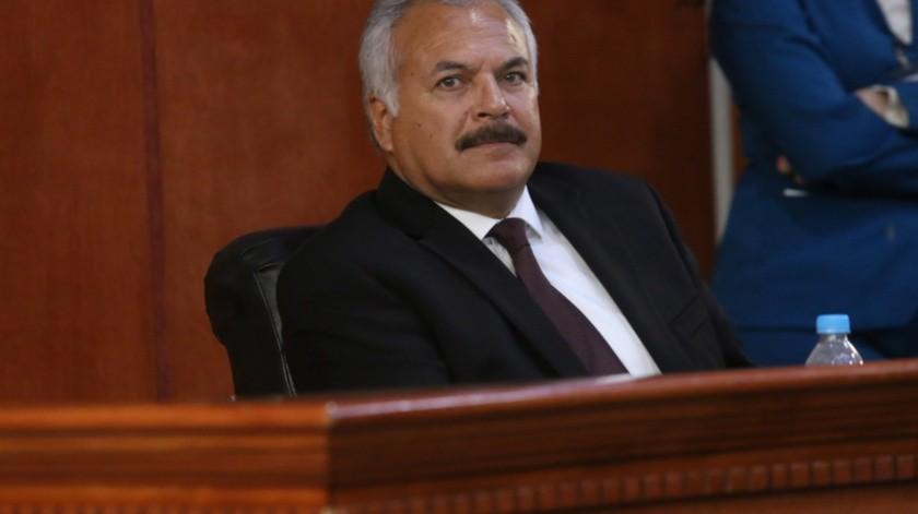 El diputado local de Morena, Víctor Morán Hernández, representante del Distrito 8.