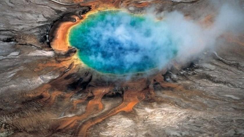 Han alerta por el índice de explosividad del volcán de Yellowstone.(AP)
