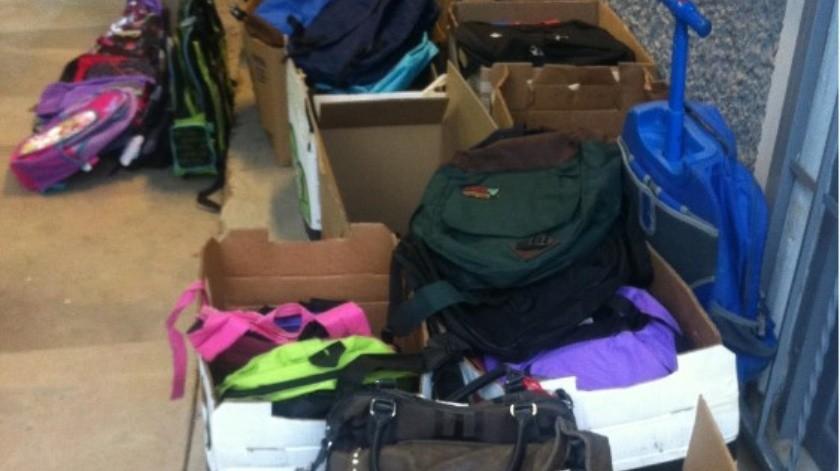 Promueven campaña de donación de útiles escolares y otros artículos en Cananea.