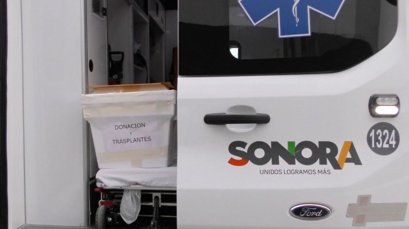 Suman 44 donaciones multiorgánicas en Sonora.