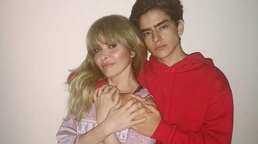 Gloria Trevi y Ángel Gabriel(Instagram)
