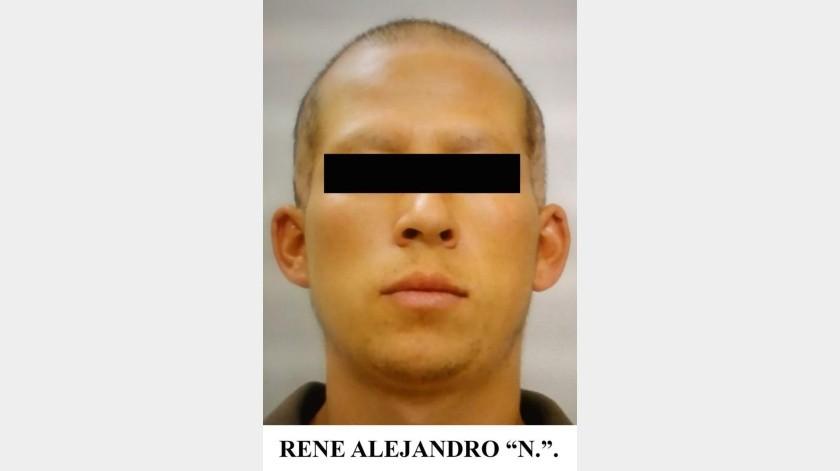 """René Alejandro """"N."""" presuntamente cometió los delitos en Cananea.(EL IMPARCIAL)"""
