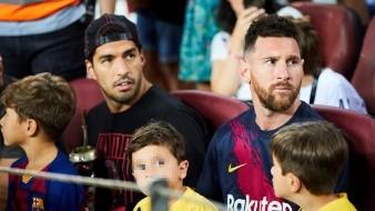 Lionel Messi y Luis Suárez se ausentaron en la goleada del Barcelona.