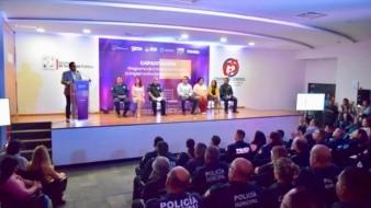Capacitan a policías sobre violencia intrafamiliar