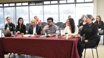 Iván Barbosa Ochoa, secretario general del XXII Ayuntamiento compareció ante Cabildo.