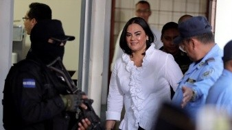 Piden 77 años de cárcel para ex primera dama hondureña; hay fecha para sentencia