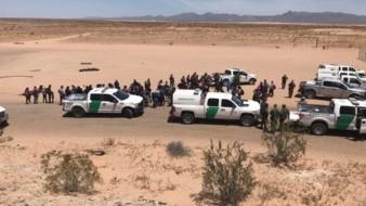 Tras baja vuelven migrantes en grupos a Arizona