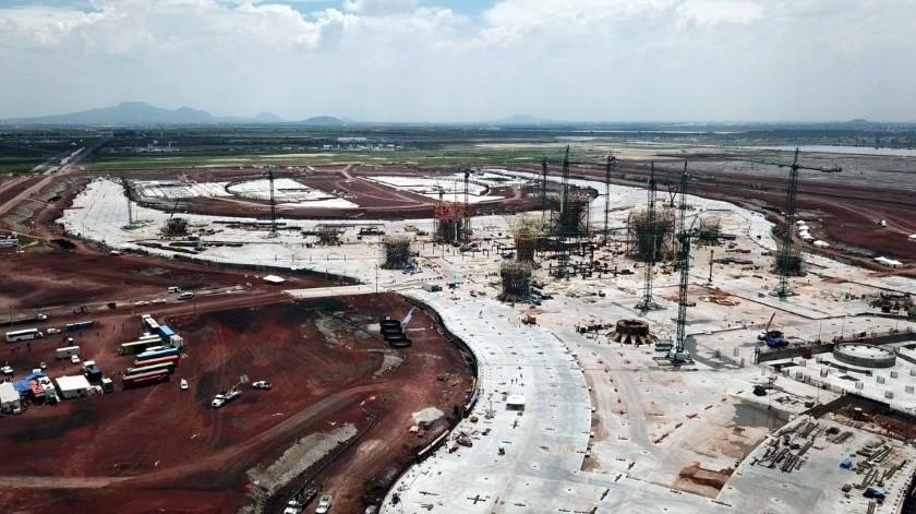 El gobierno federal liquidará los contratos de construcción en Texcoco.(Archivo.)