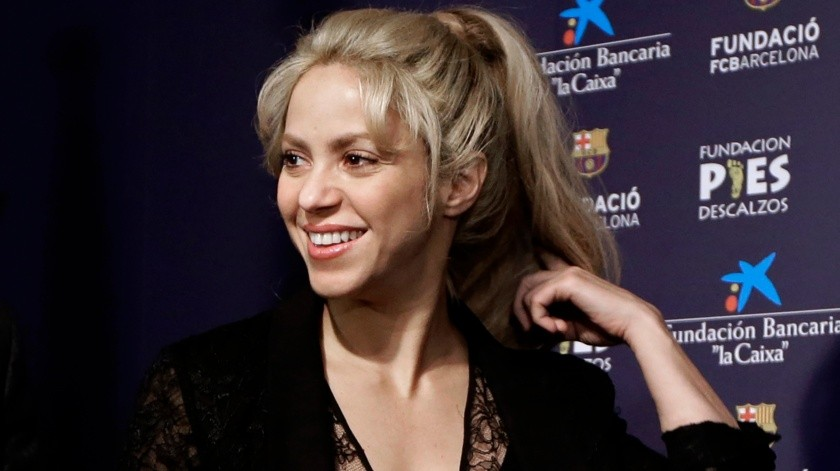 Shakira dice sentirse muy entusiasmada.